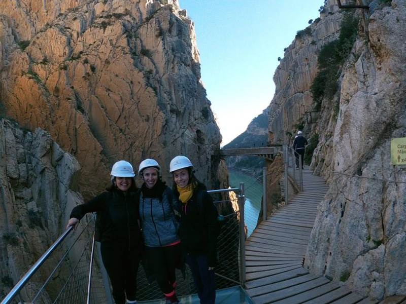 We offer regular tours to the amazing Caminito del Rey