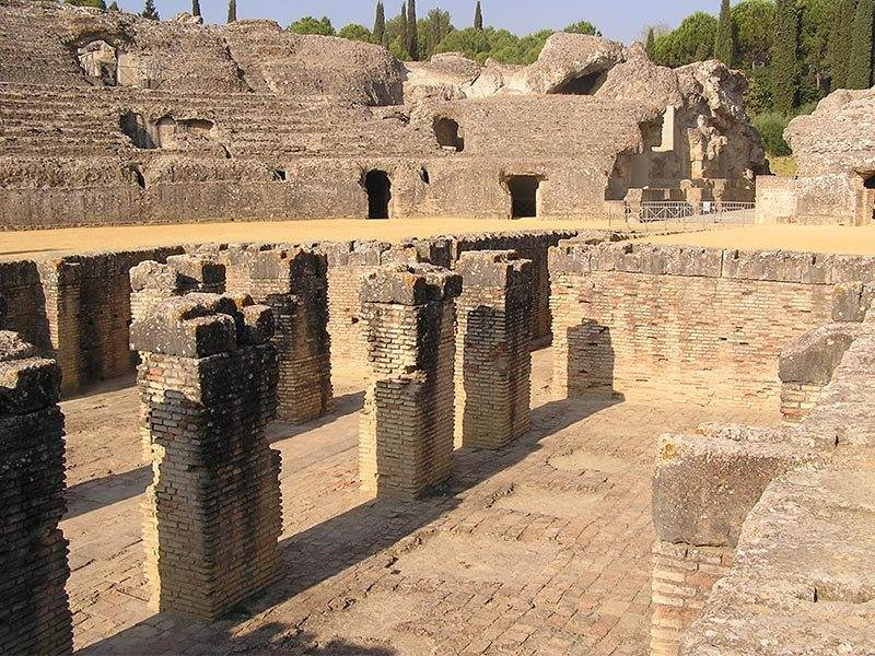Romans in Andalucia |  Aelia Augusta Italica - a Roman town fit for veterans