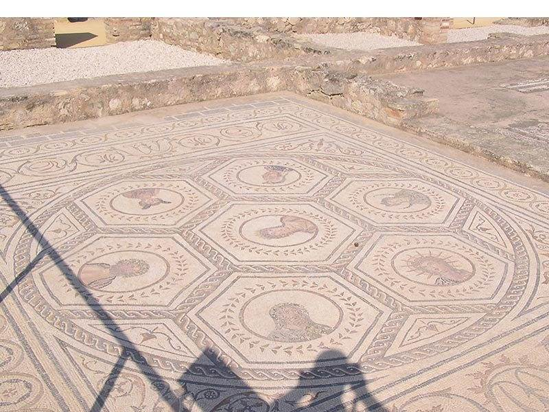 Mosaic of the Planets Italica
