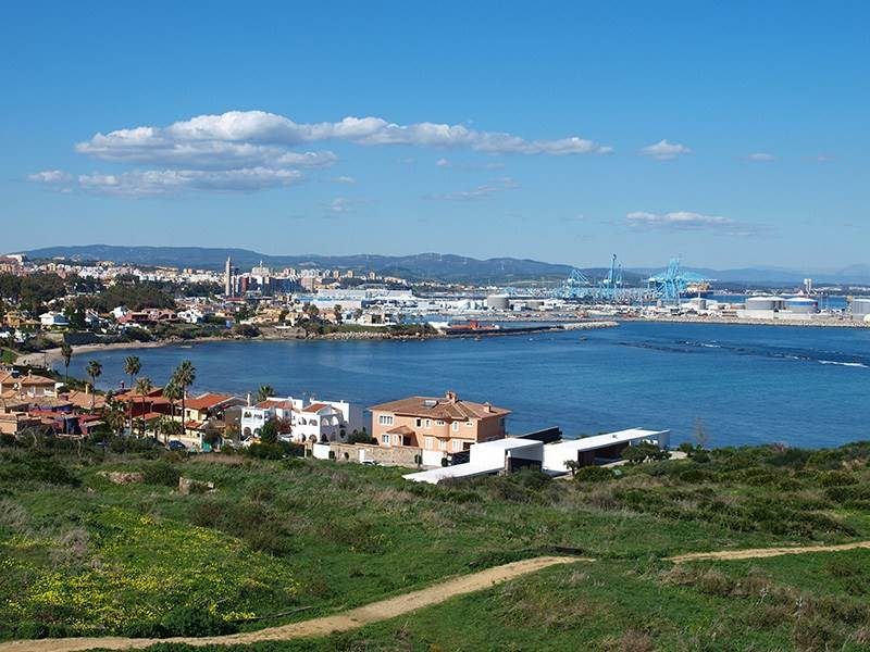 Algeciras Port from Punta de San Garcia