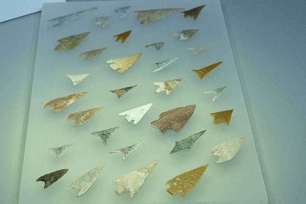 Almeria Museum Arrow Heads
