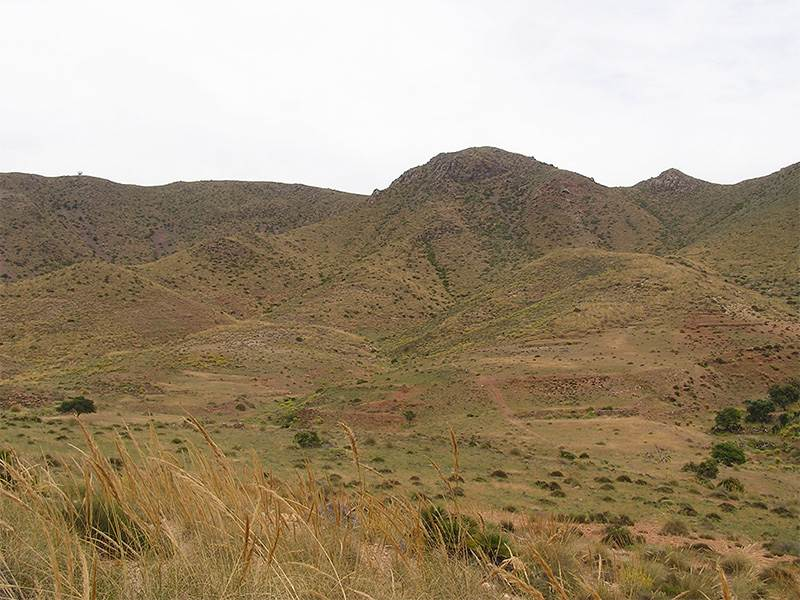 Caldera in the Cabo de Gata