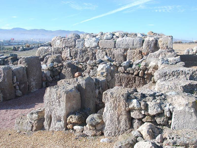 Remains of Moorish watchtower on Roman temple foundations