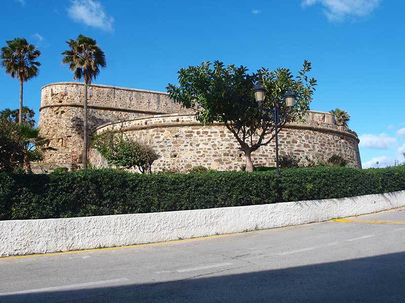 18th century castle at Castillo de la Duquesa