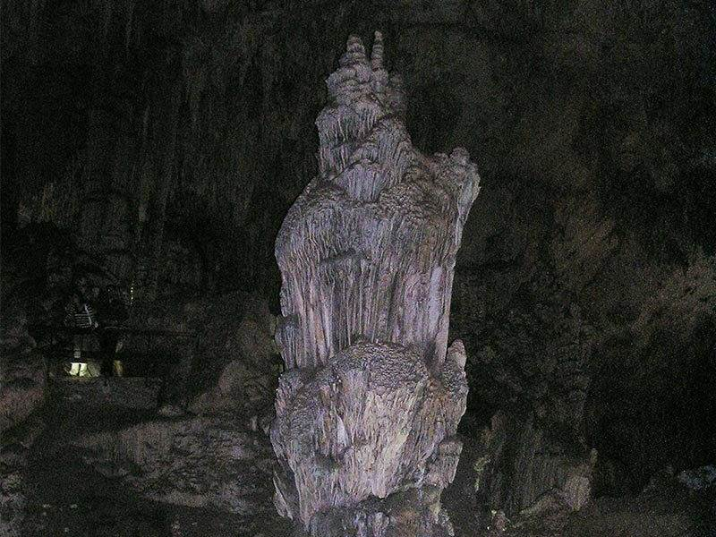 Column at Nerja Caves