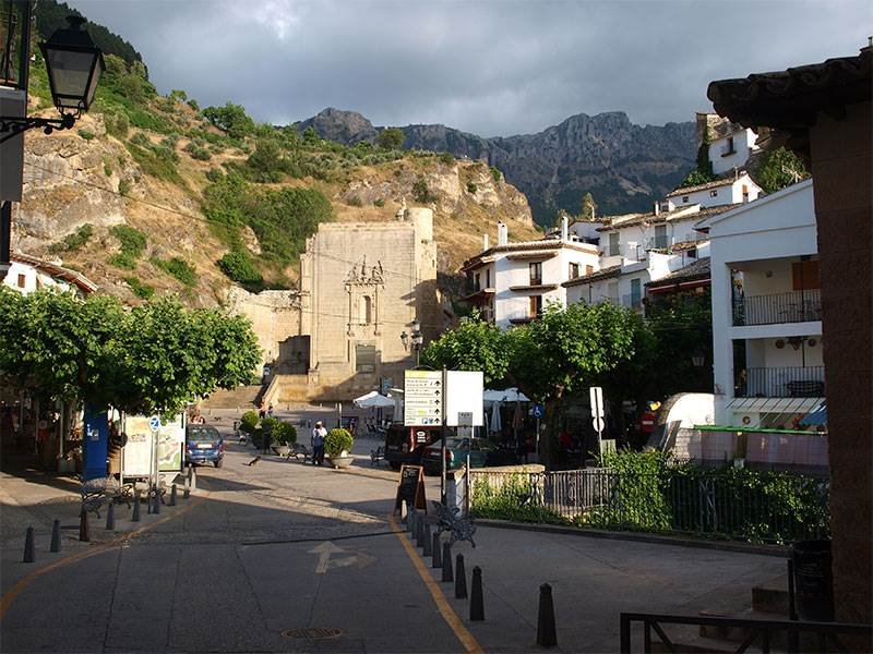 White Villages in Andalucia | Cazorla in the foothills of the Sierra de Cazorla