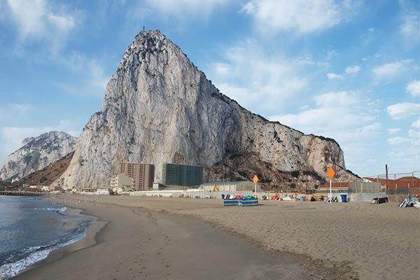 Coast and Beaches of Gibraltar