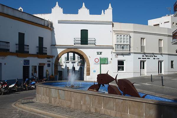 Centre of Conil de la Frontera
