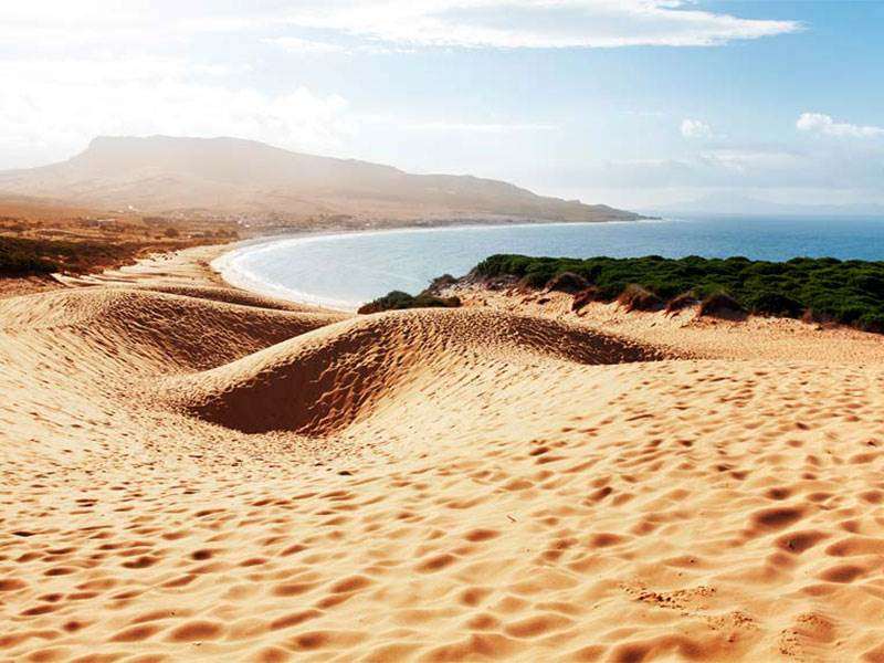 The dune at Bolonia