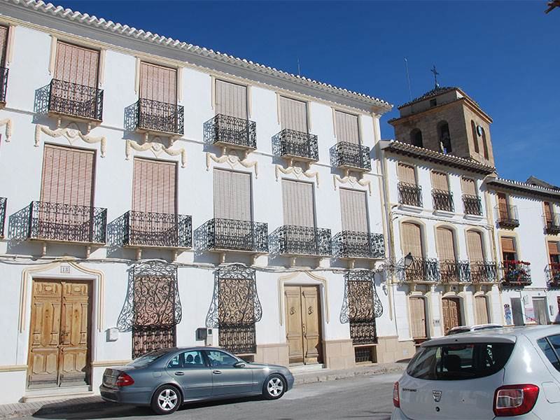 Mudejar balconies at Galera
