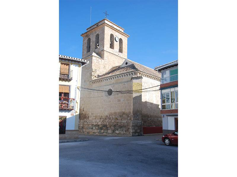 Mudejar church at Galera