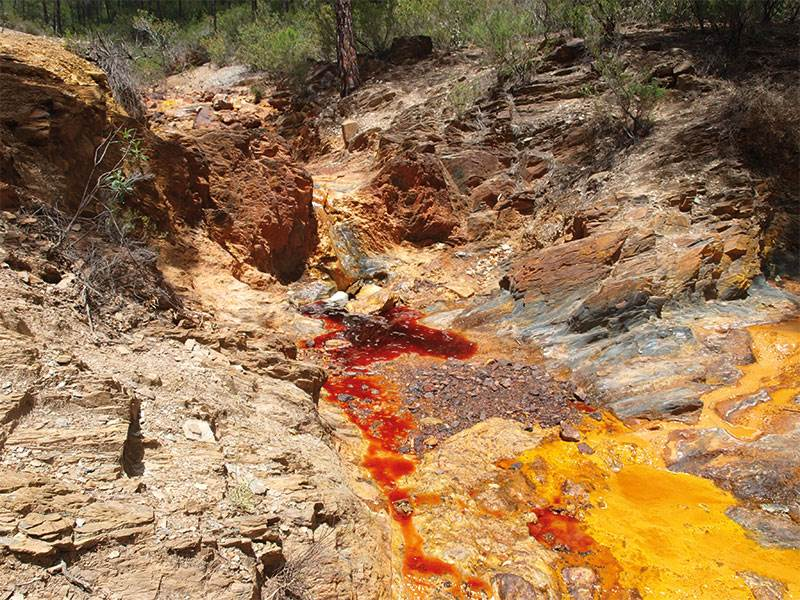Rio Tinto - red like blood