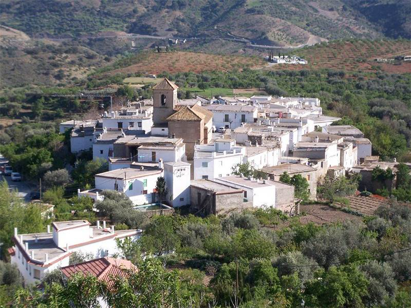 Lobras, the smallest municipality in Granada