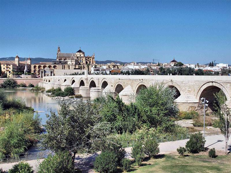 Roman bridge at Cordoba