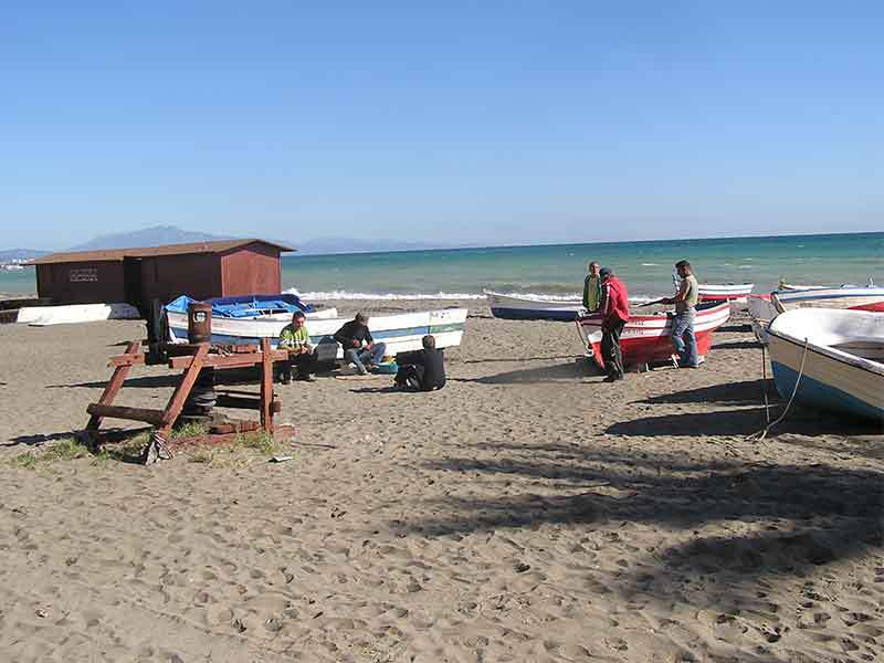 Costa del Sol | San Luis de Sabinillas a small fishing village in Manilva municipality
