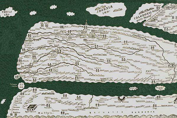 The Tabula Peutingeriana