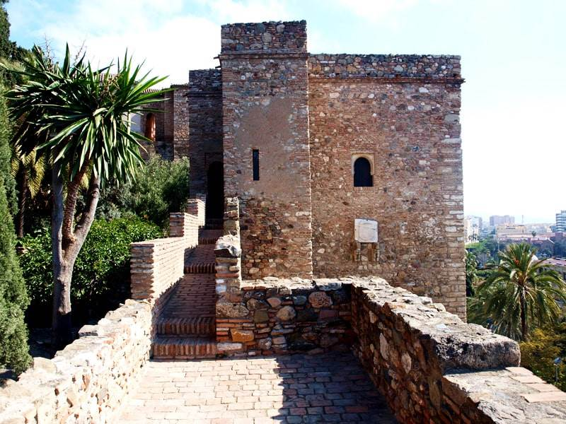 Alcazaba battlements