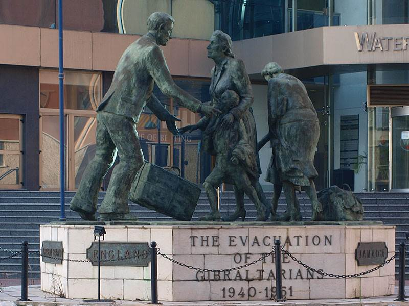 The Evacuation Memorial Gibraltar