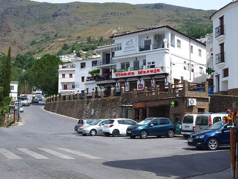 Guide to Trevélez in the Alpujarras, famous for Jamon Serrano
